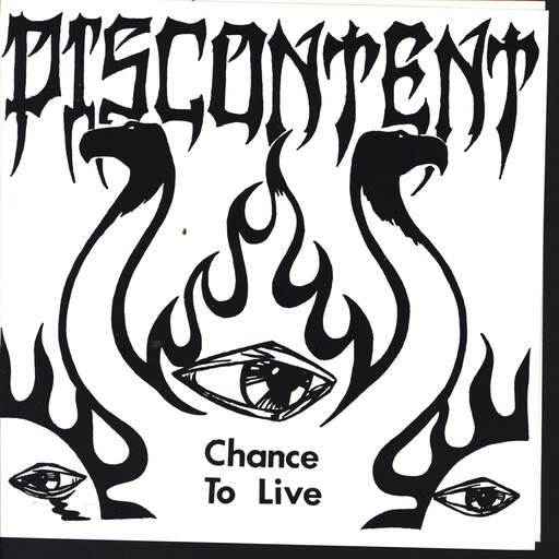 "Discontent: Chance To Live, 7"" Single (Vinyl)"