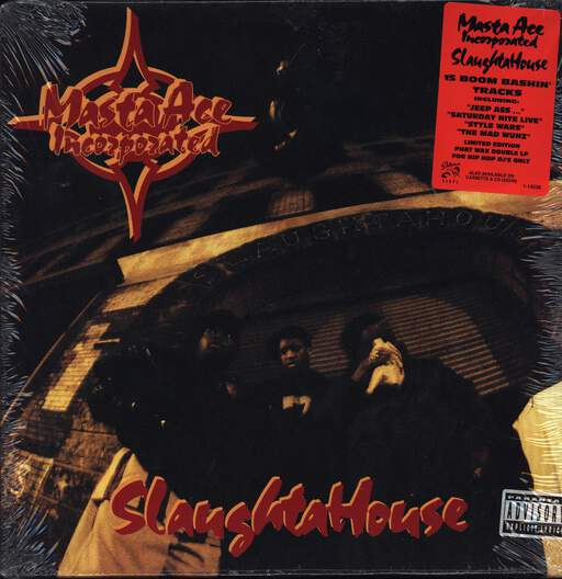 Masta Ace Incorporated: SlaughtaHouse, LP (Vinyl)