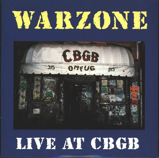 "Warzone: Live At CBGB, 7"" Single (Vinyl)"