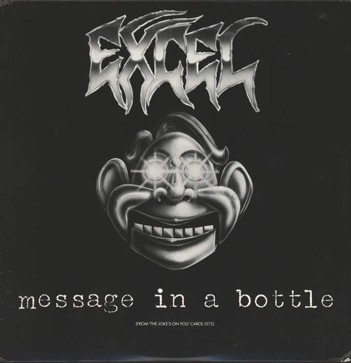 "Excel: Message In A Bottle, 12"" Maxi Single (Vinyl)"