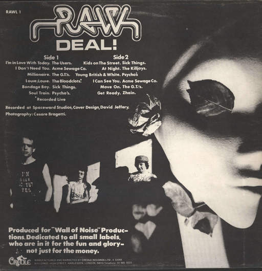 Various: Raw Deal!, LP (Vinyl)