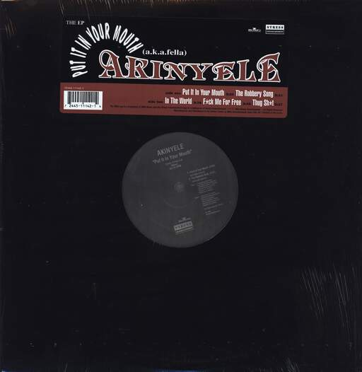 "Akinyele: Put It In Your Mouth, 12"" Maxi Single (Vinyl)"