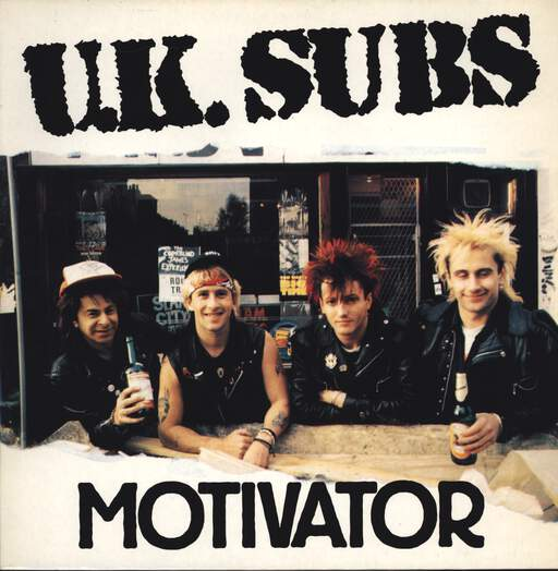 "UK Subs: Motivator, 12"" Maxi Single (Vinyl)"