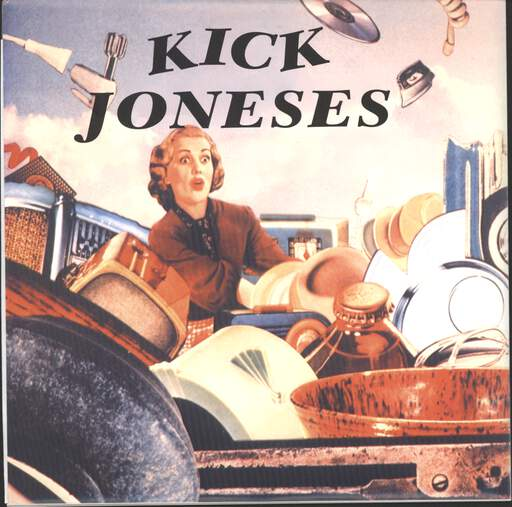 "Kick Joneses: DoppelSingleSerie, 7"" Single (Vinyl)"