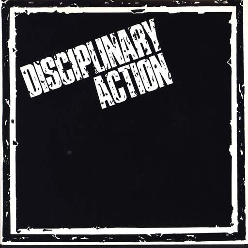 "Disciplinary Action: Burnt Out, 7"" Single (Vinyl)"