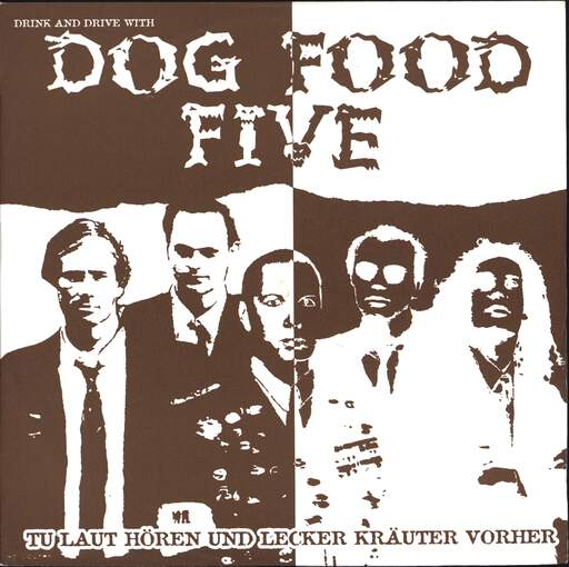 "Dog Food Five: Drink And Drive With Dog Food Five, 7"" Single (Vinyl)"