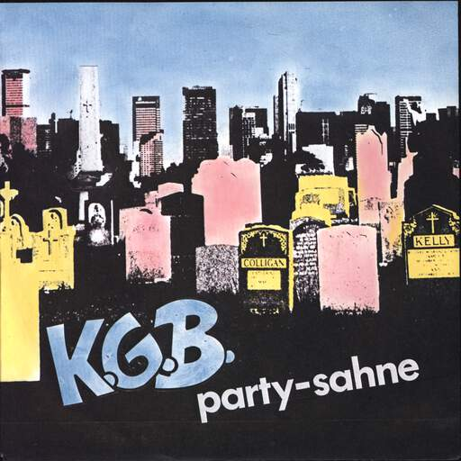 "K.G.B.: Party-Sahne, 7"" Single (Vinyl)"