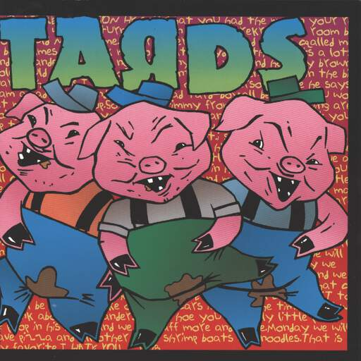 "Tards: Rubber Room, 7"" Single (Vinyl)"
