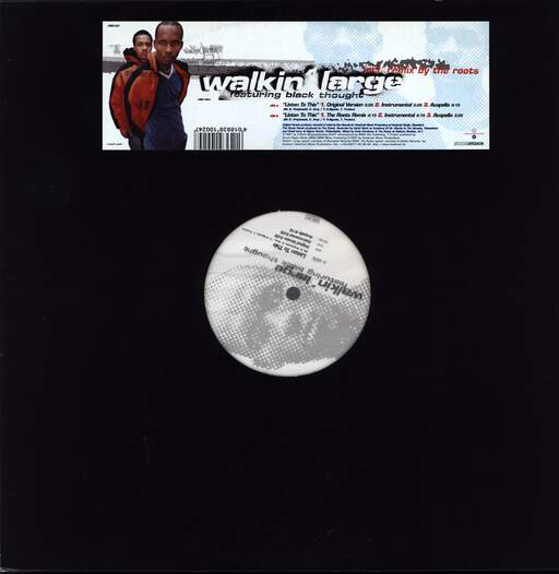"Walkin'large: Listen To This, 12"" Maxi Single (Vinyl)"