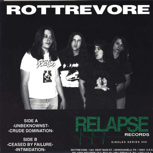 "Rottrevore: Copulation Of The Virtuous & Vicious, 7"" Single (Vinyl)"