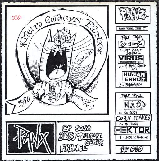 "Various: Panx Vinyl Zine 07, 7"" Single (Vinyl)"