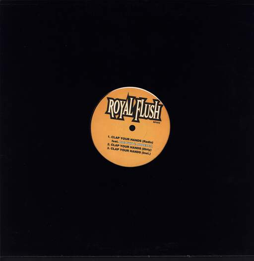 "Royal Flush: Section Eight, 12"" Maxi Single (Vinyl)"