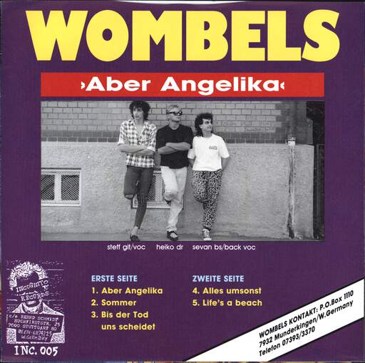 "Wombels: Aber Angelika!?, 7"" Single (Vinyl)"