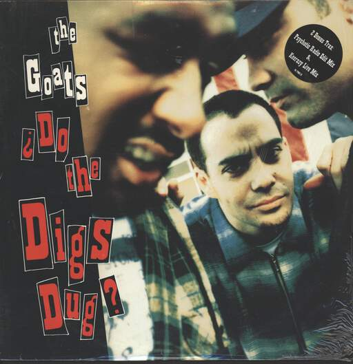 "Goats: ¿Do The Digs Dug?, 12"" Maxi Single (Vinyl)"