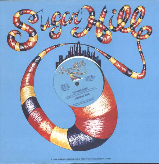 "Sugarhill Gang: The Word Is Out, 12"" Maxi Single (Vinyl)"