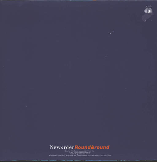 "New Order: Round and Round, 12"" Maxi Single (Vinyl)"