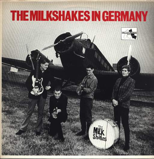 Thee Milkshakes: The Milkshakes In Germany, LP (Vinyl)