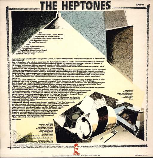 Heptones: Party Time, LP (Vinyl)