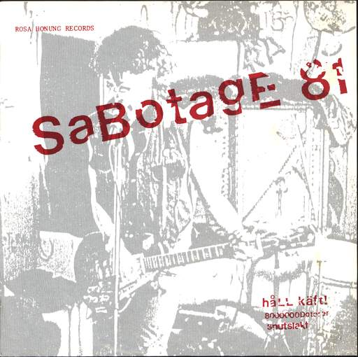 "Sabotage 81: Håll Käft!, 7"" Single (Vinyl)"