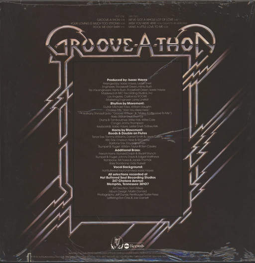 Isaac Hayes: Groove-A-Thon, LP (Vinyl)
