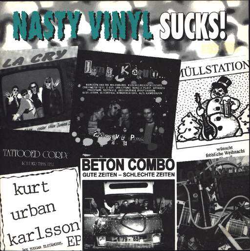 "Various: Nasty Vinyl Sucks!, 7"" Single (Vinyl)"