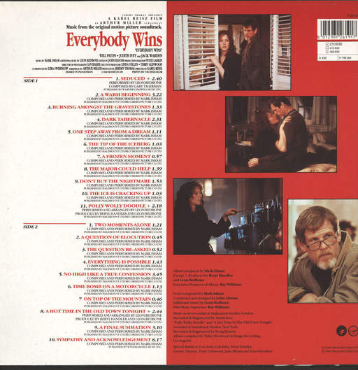 Mark Isham: Everybody Wins (Original Motion Picture Soundtrack), LP (Vinyl)