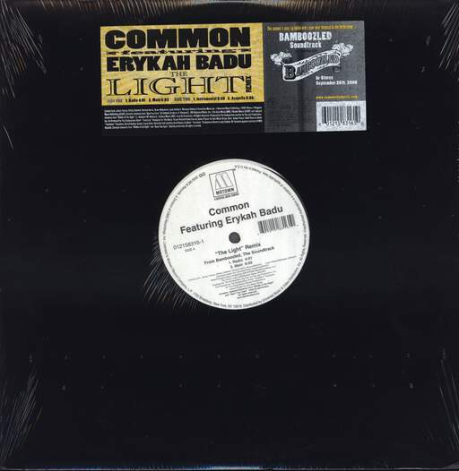 "Common: The Light (Remix), 12"" Maxi Single (Vinyl)"