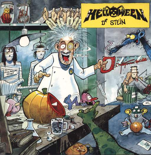 "Helloween: Dr. Stein, 12"" Maxi Single (Vinyl)"