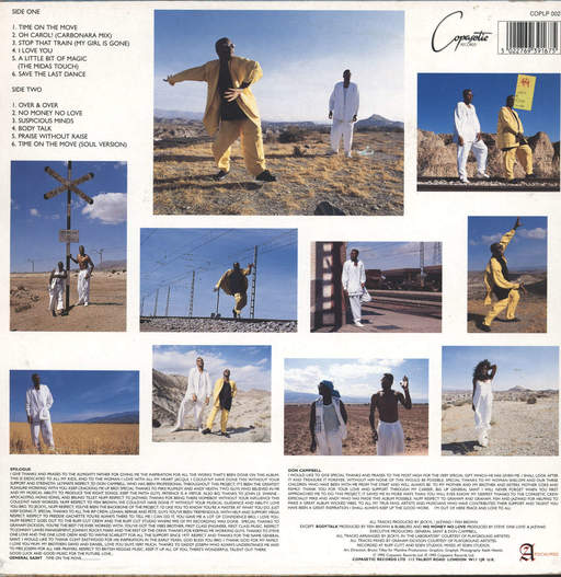 Saint & Campbell: Time On The Move, LP (Vinyl)