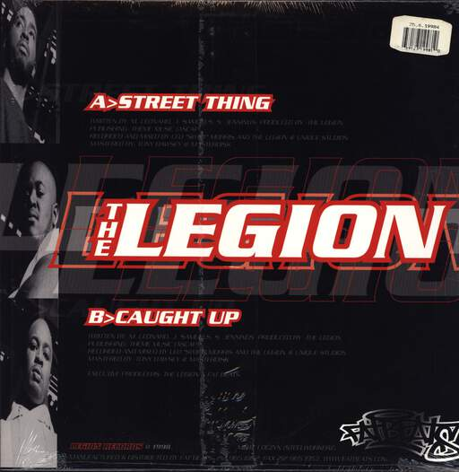 "The Legion: Street Thing / Caught Up, 12"" Maxi Single (Vinyl)"