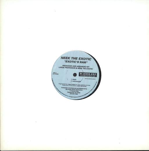 "Neek the Exotic: Exotic's Raw, 12"" Maxi Single (Vinyl)"