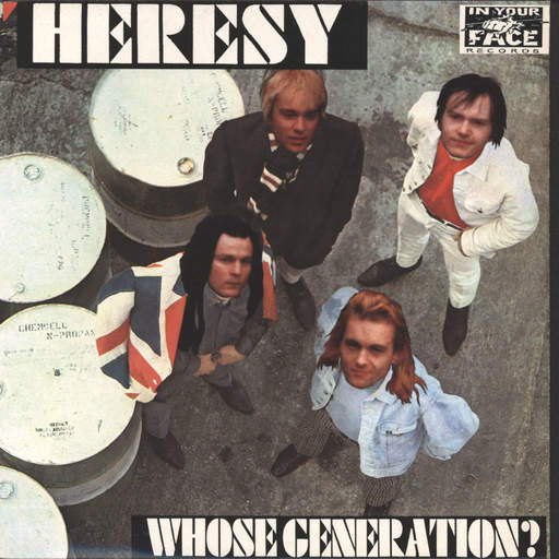 "Heresy: Whose Generation, 7"" Single (Vinyl)"