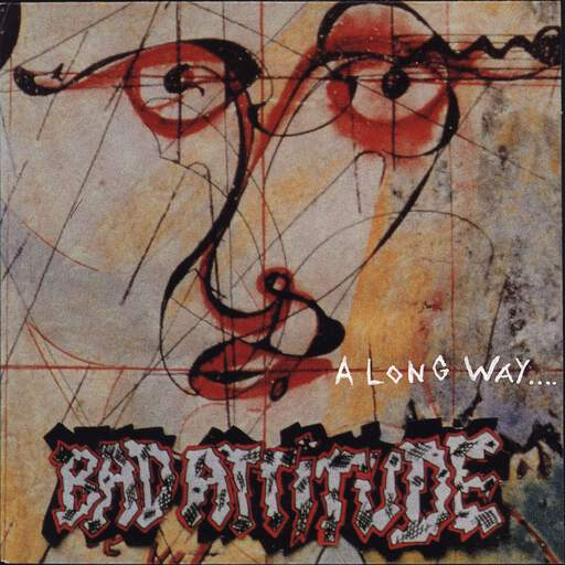 "Bad Attitude: A Long Way..., 7"" Single (Vinyl)"