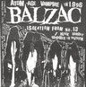 "Balzac: Isolation From No. 13, 7"" Single (Vinyl)"