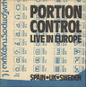 "Portion Control: Live In Europe, 10"" Vinyl EP"