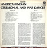 Various: American Indian Ceremonial And War Dances, LP (Vinyl)